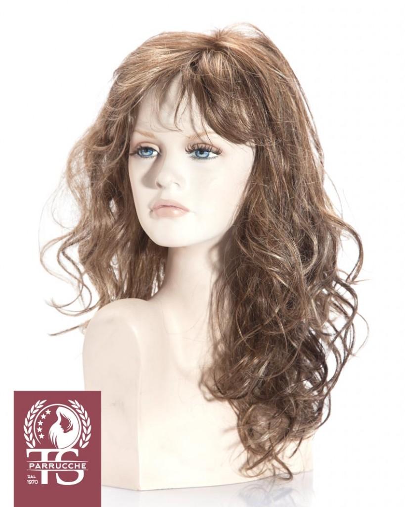 Parrucca alopecia modello STROMBOLI – Fibra Sintetica