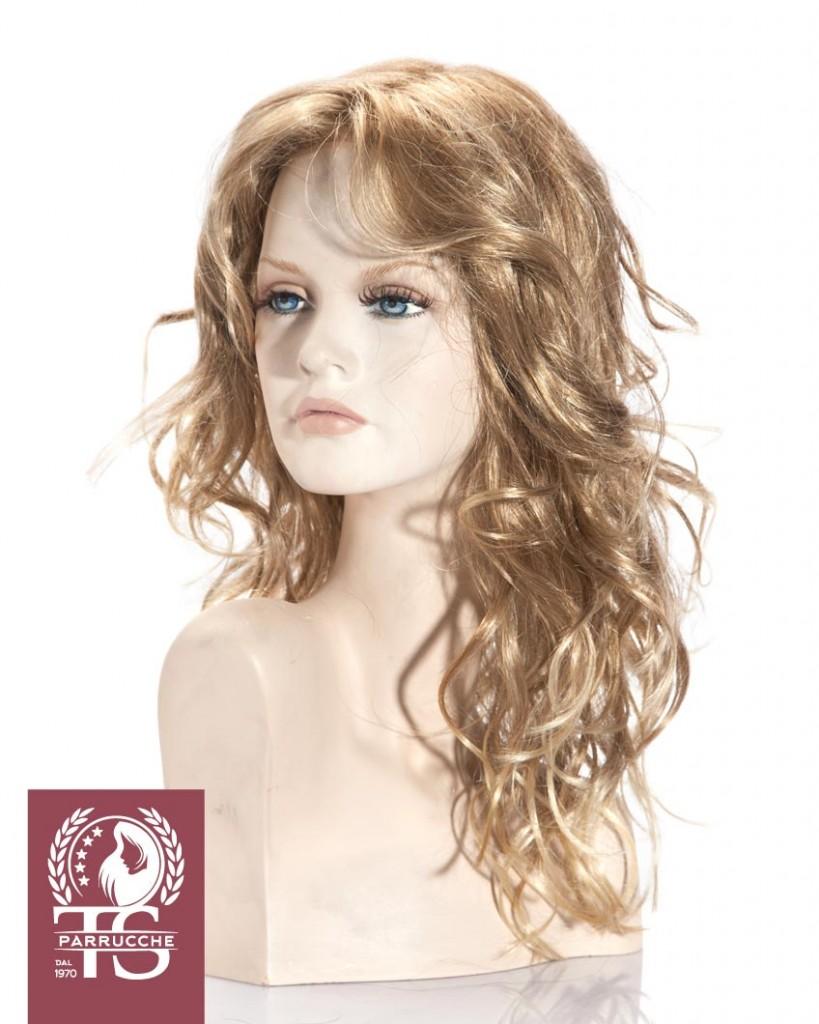 Parrucca alopecia modello LIPARI – Fibra Sintetica