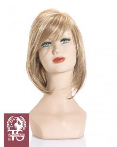 Parrucca modello Positano - 100% fatta a mano con monofilamento ultra leggera luxury