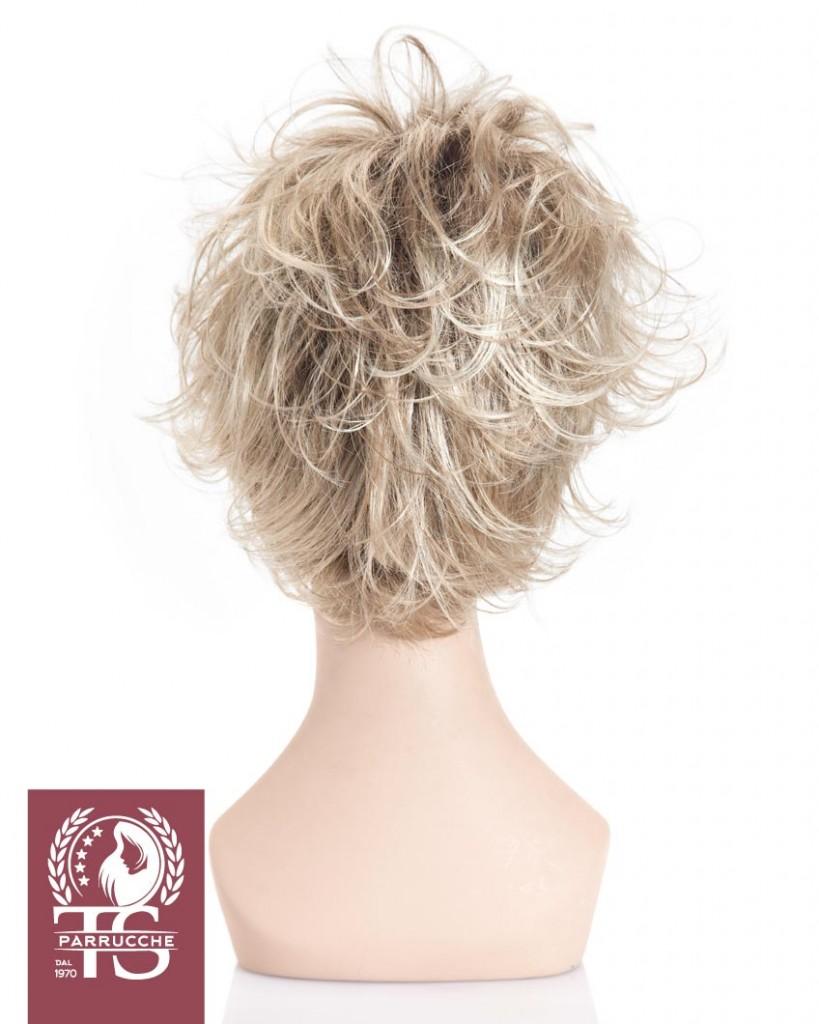 Parrucca taglio corto e mosso modello CRETA
